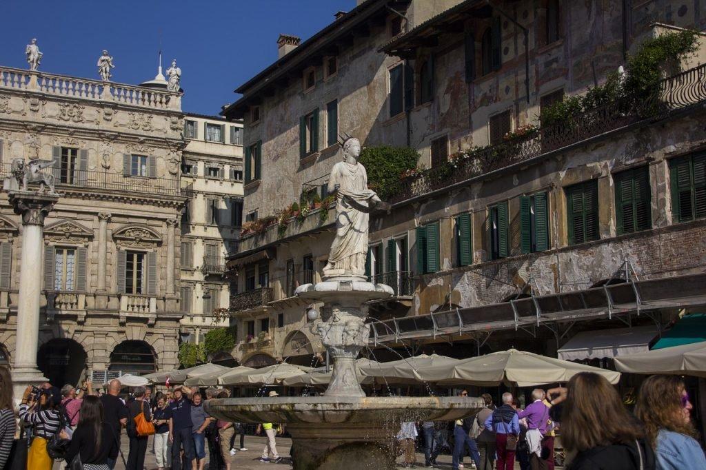 Zentrum von Verona