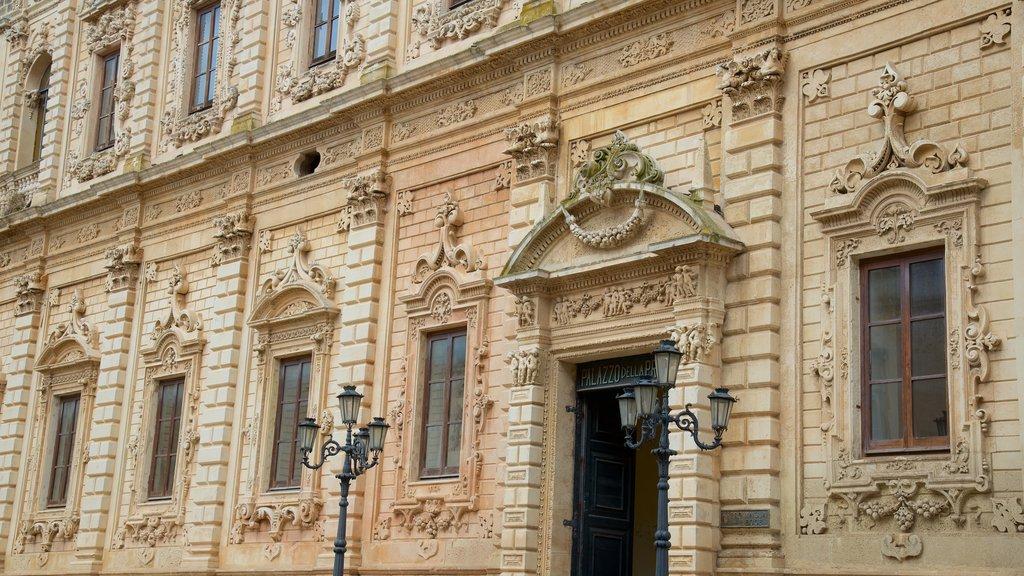 Lecce which includes heritage architecture