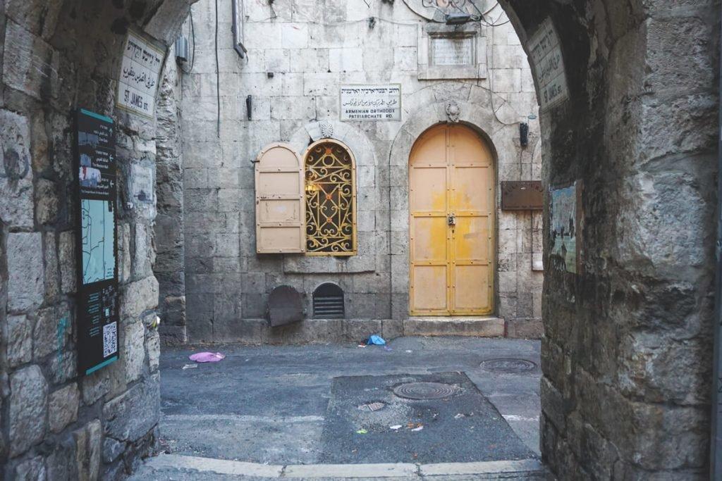 Das armenische Viertel in Jerusalem