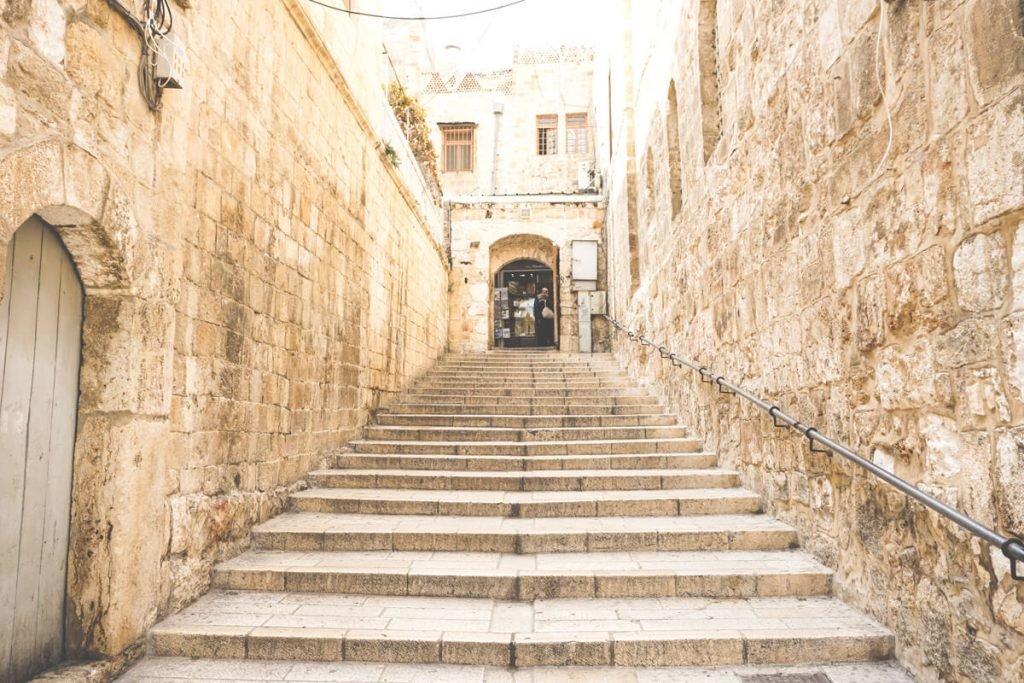 Das christliche Viertel in Jerusalem