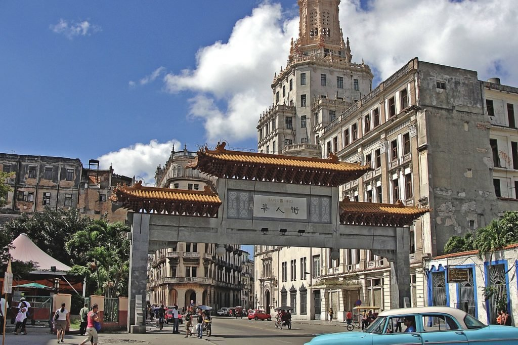 Chinatown in Havanna, Kuba