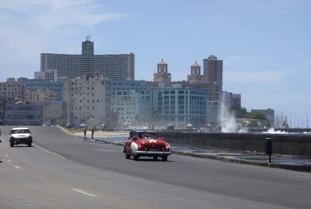 Malecón in Havanna, Kuba