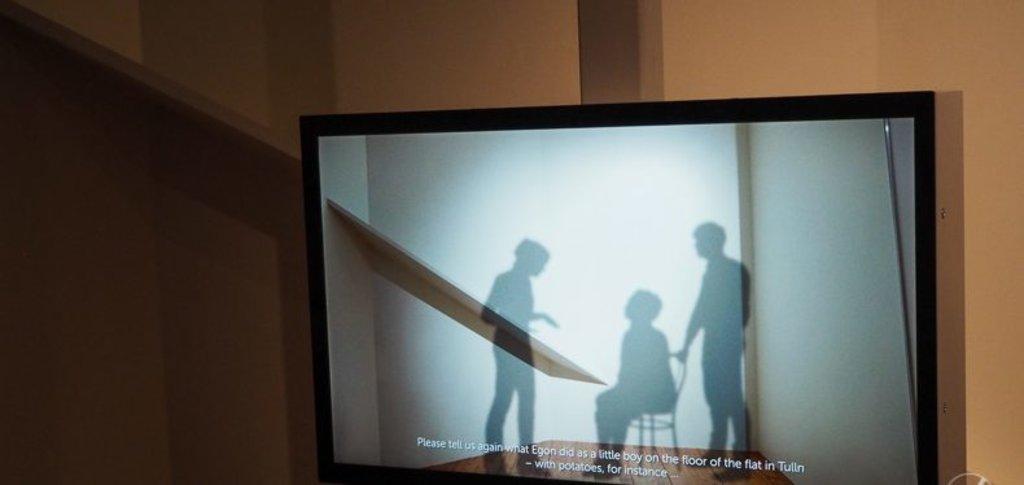 Alte Tondokumente im Egon Schiele Museum in Tulln