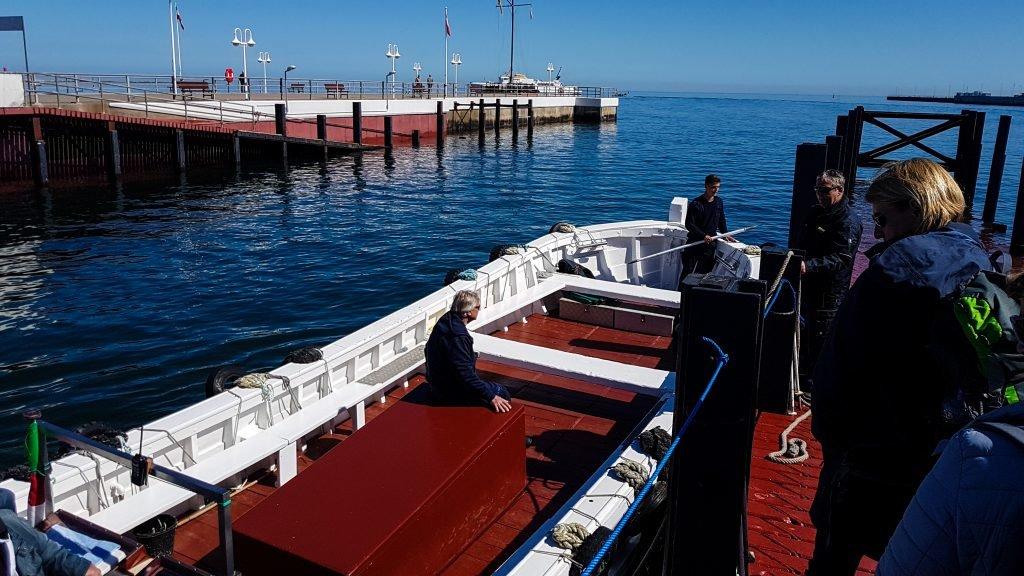 Die Börteboote auf Helgoland