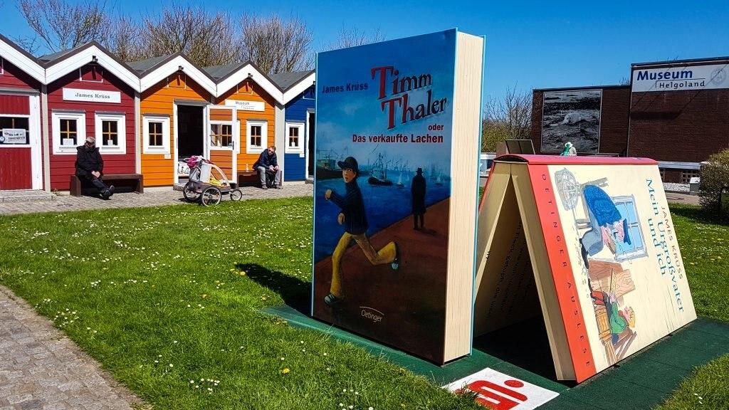 Kinderbuchautor James Krüss aus Helgoland