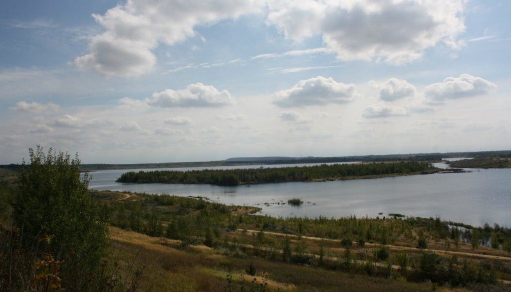Störmthaler See in Leipzig