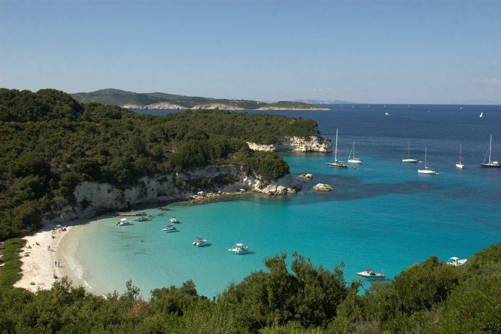 FKK-Strand Antiparos in Griechenland