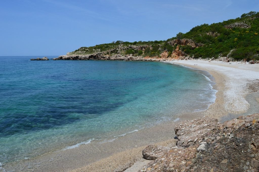 FKK-Strand Ada Bojana in Montenegro