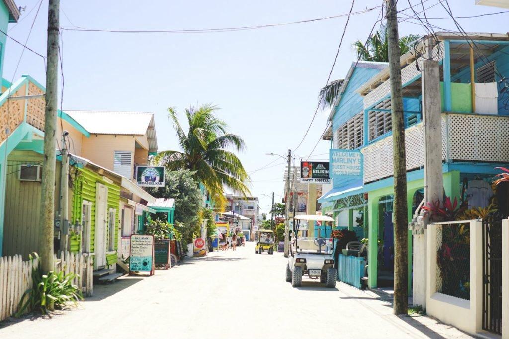 Insel Caye Caulker bei Belize
