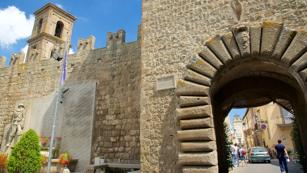 Vitorchiano featuring heritage architecture
