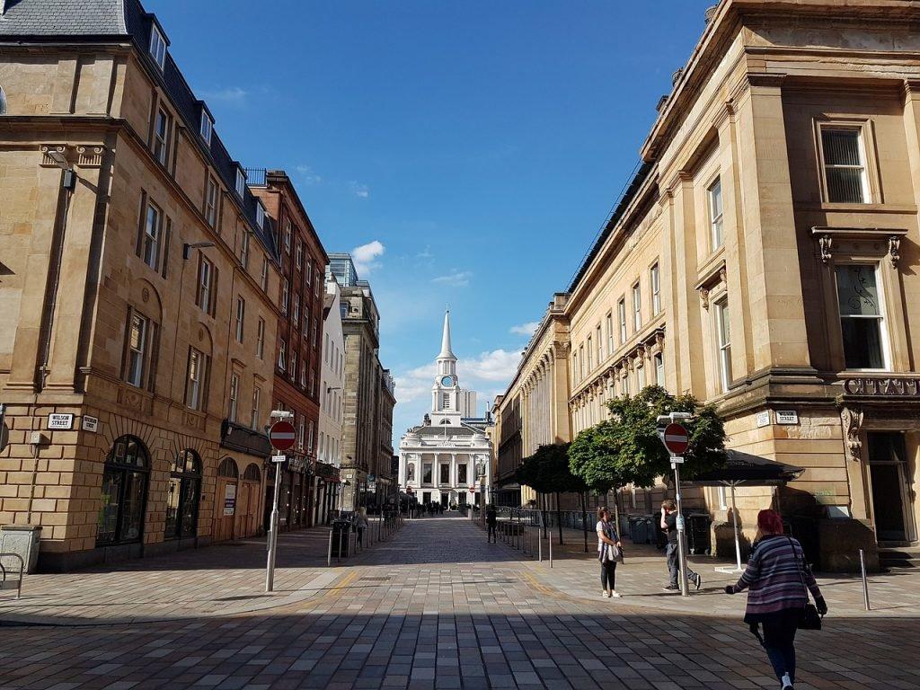 Glasgow Stadtzentrum