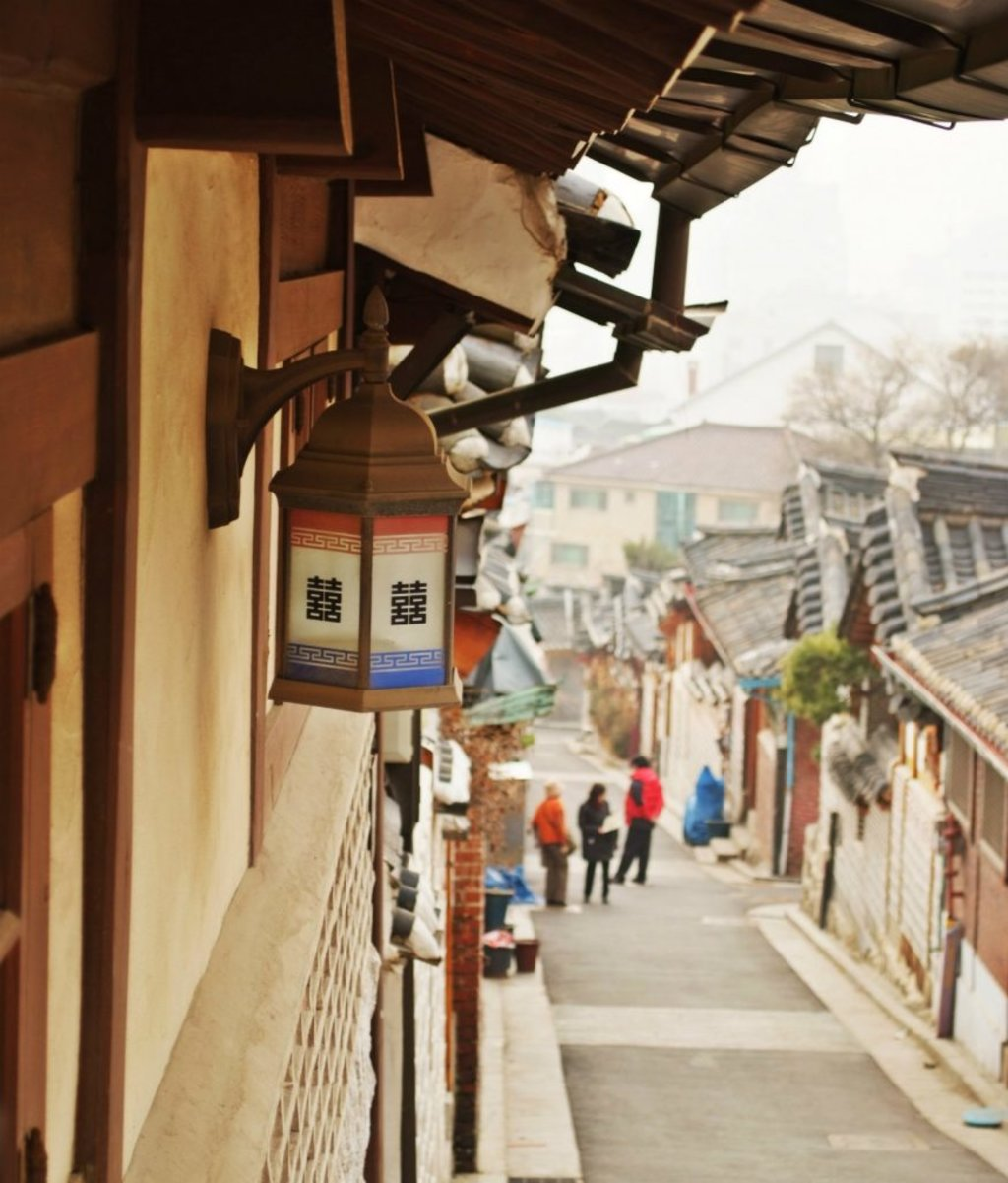 Bukchon Hanok Village in Seoul