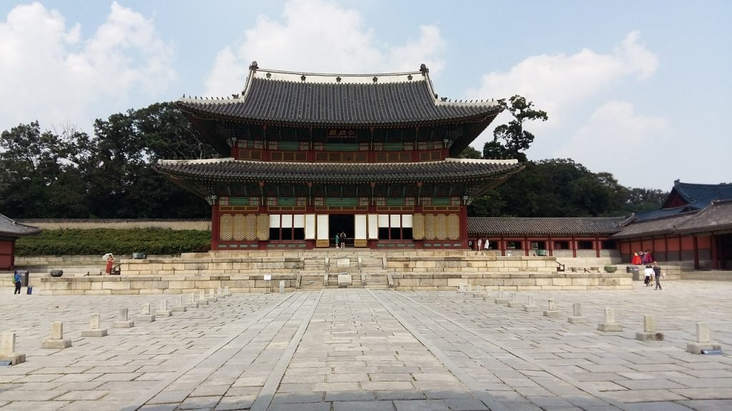 Changdeokgung Palast in Seoul