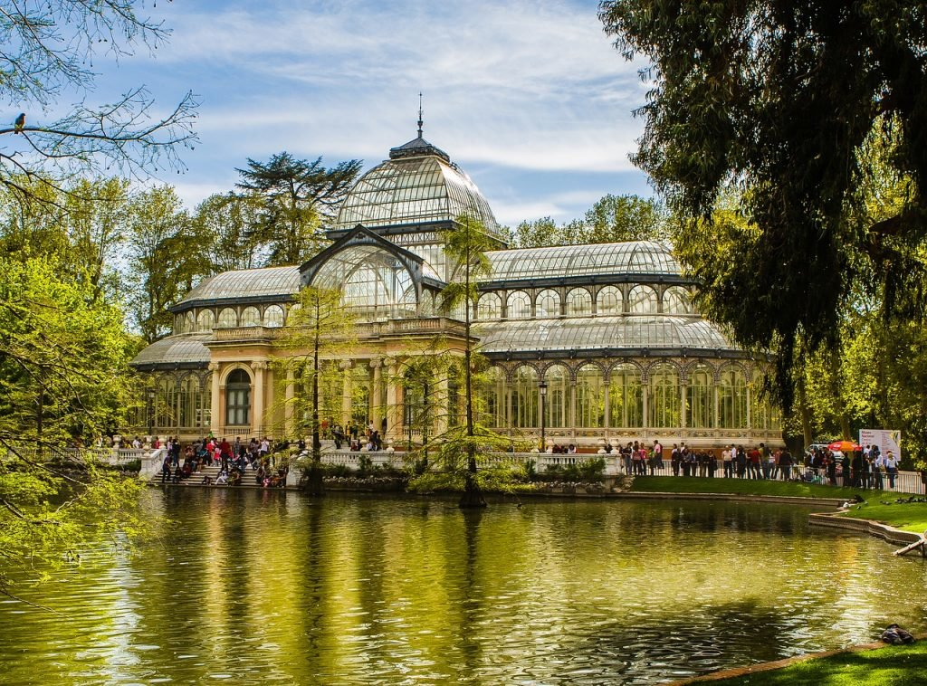 Palacio de Cristal in Madrid