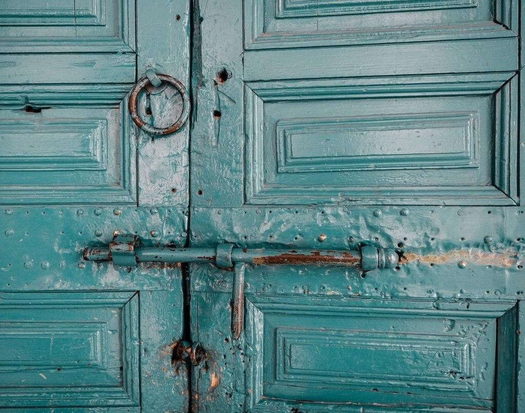 Tür in Marokko