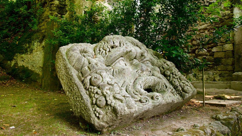 Parco dei Mostri ofreciendo una estatua o escultura y un jardín