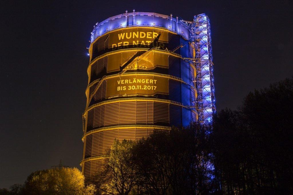 Das Gasometer in Oberhausen