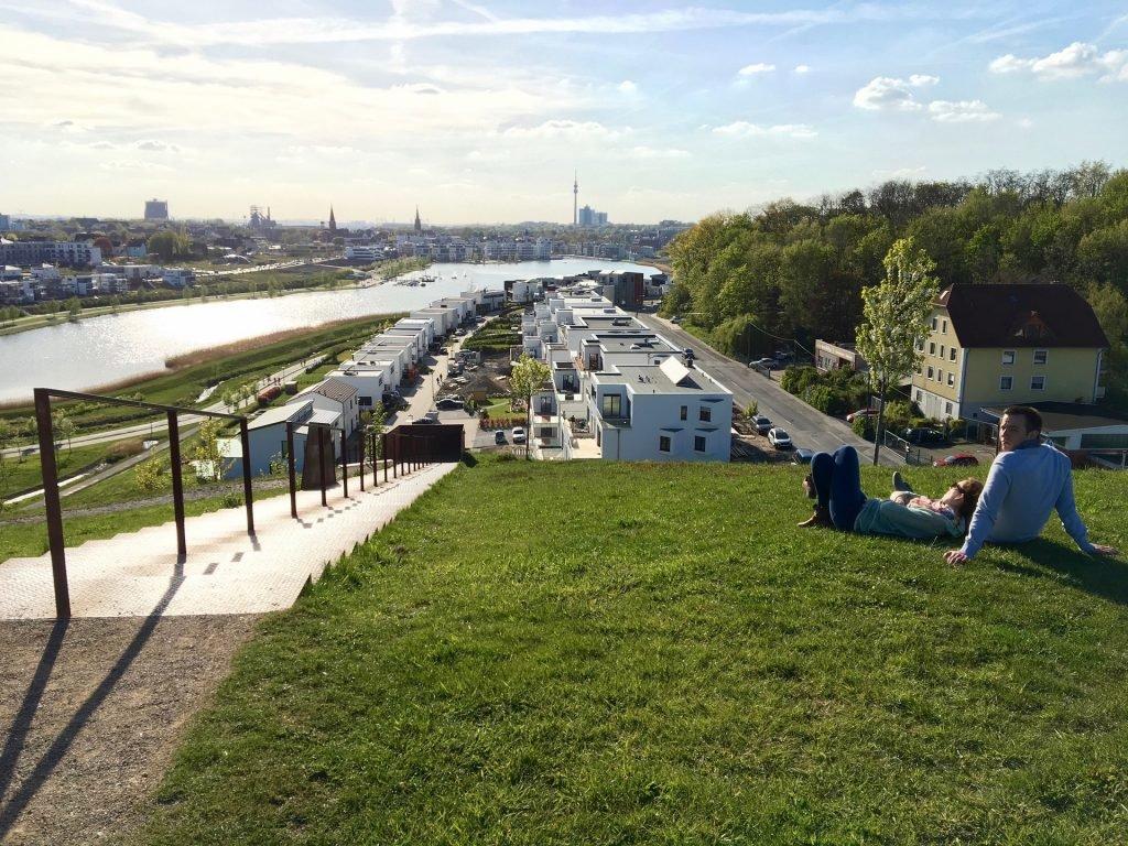 Der Phönixsee in Dortmund