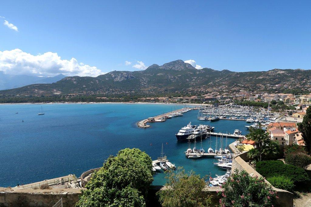 Die Bucht von Calvi