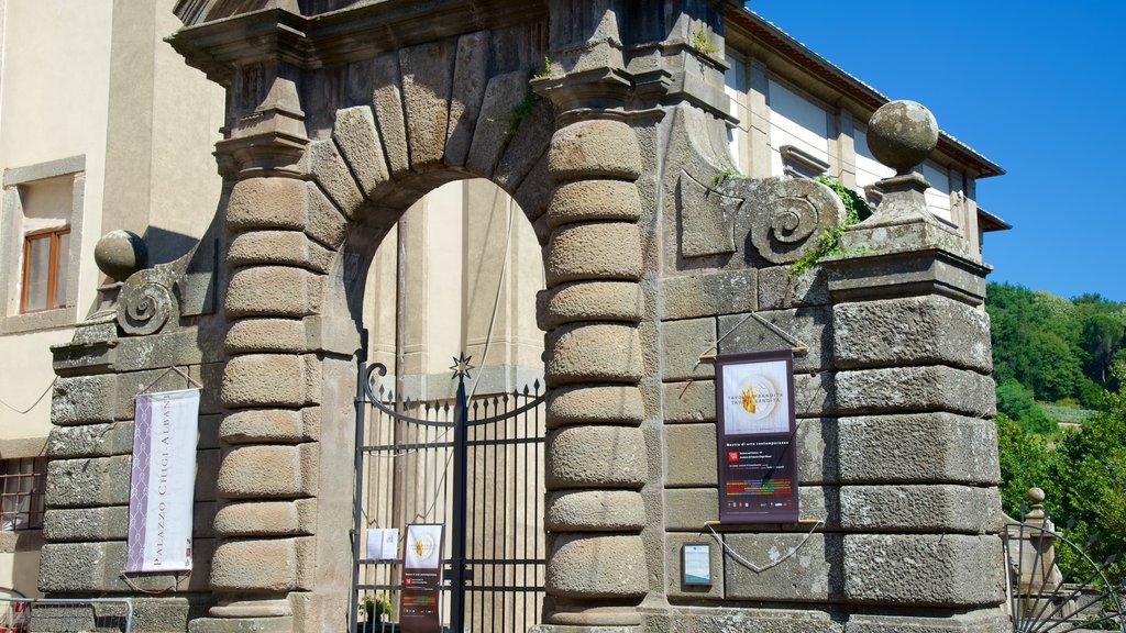 Palazzo Chigi-Albani which includes heritage architecture
