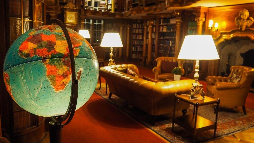 Bibliothek im Schloss Leopoldskron