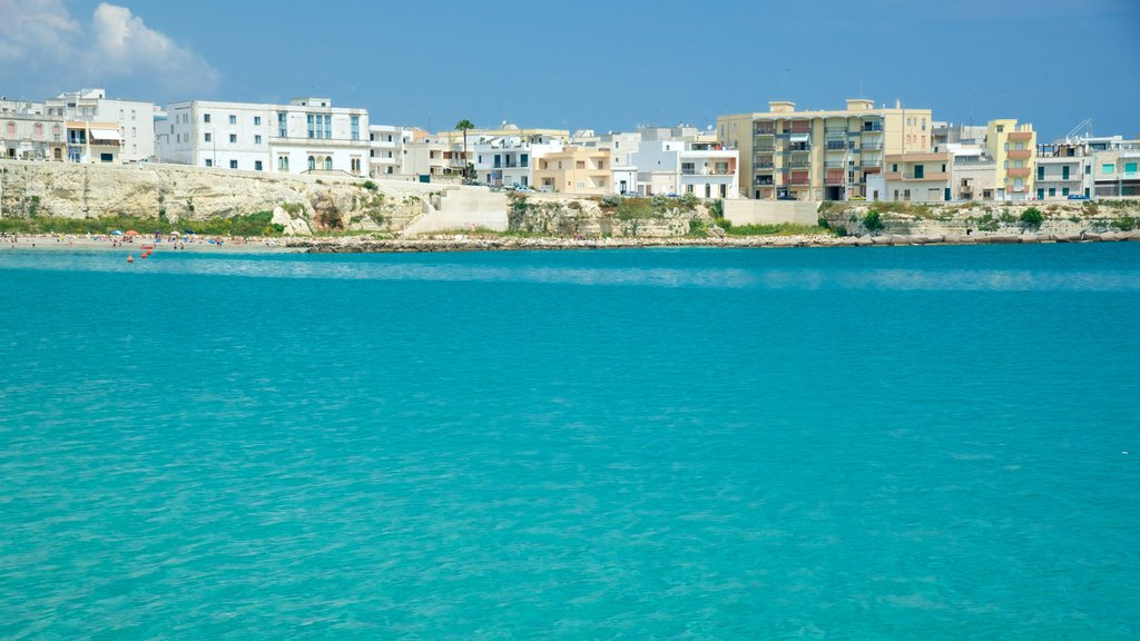 Otranto Waterfront featuring general coastal views and a city