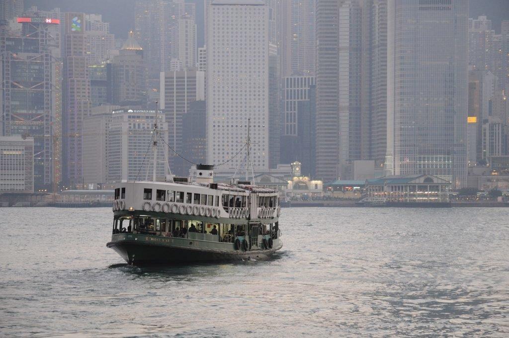 Star Ferry in Hongkong