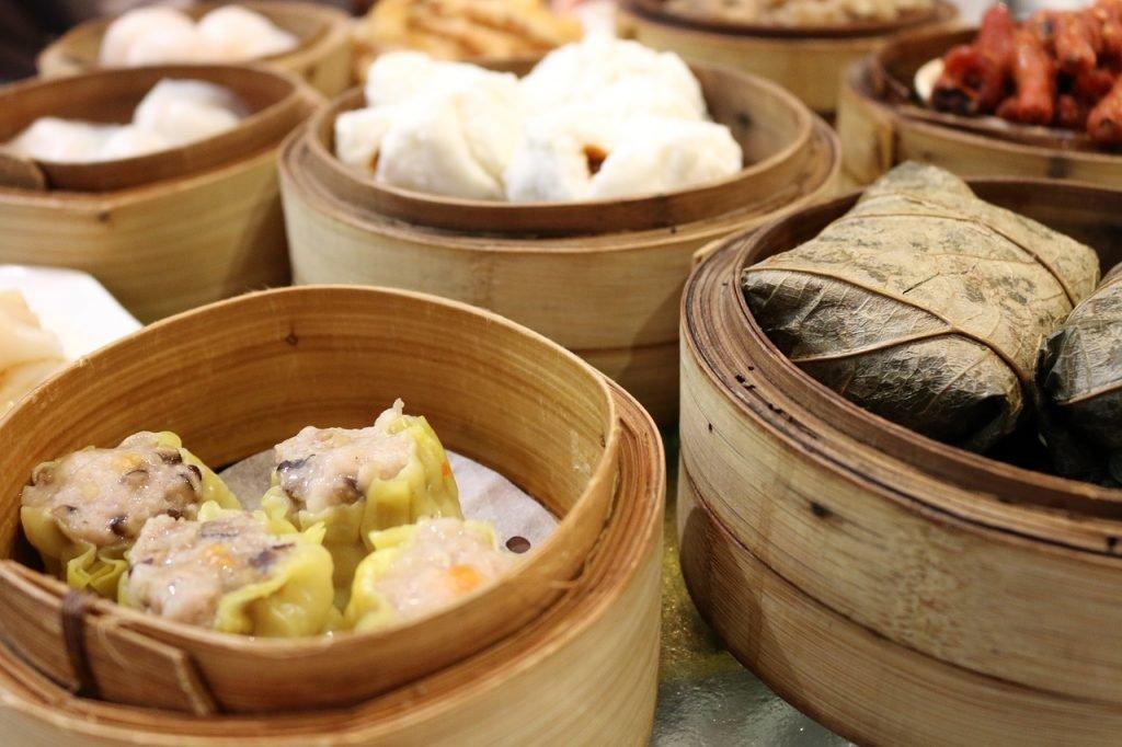 Dim Sum in Hongkong