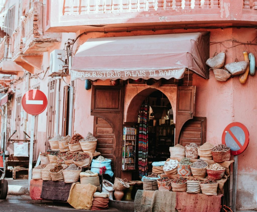 Gewürze in Marrakesch
