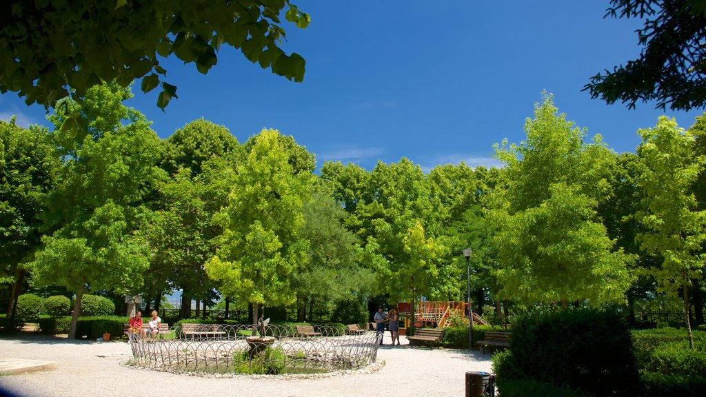 Montepulciano showing a park