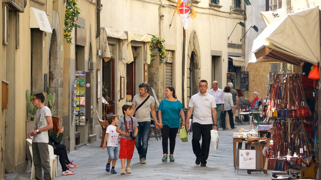 Cortona which includes heritage architecture as well as a family