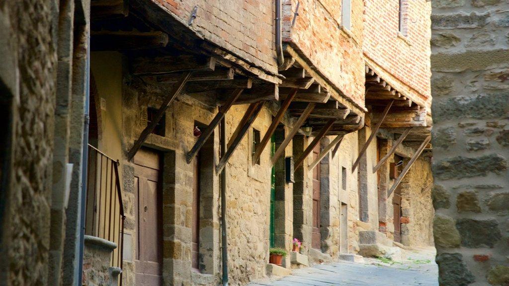 Cortona featuring heritage architecture