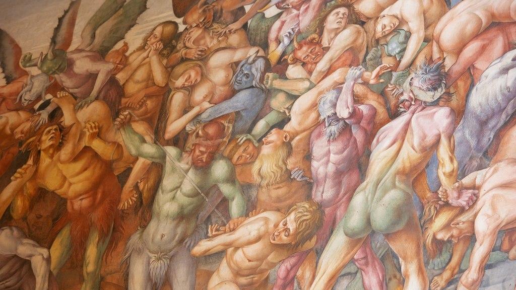 Duomo di Orvieto featuring art