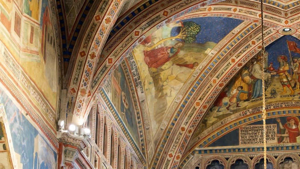 Duomo di Orvieto which includes art and religious aspects