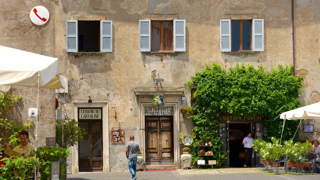 Orvieto featuring heritage architecture