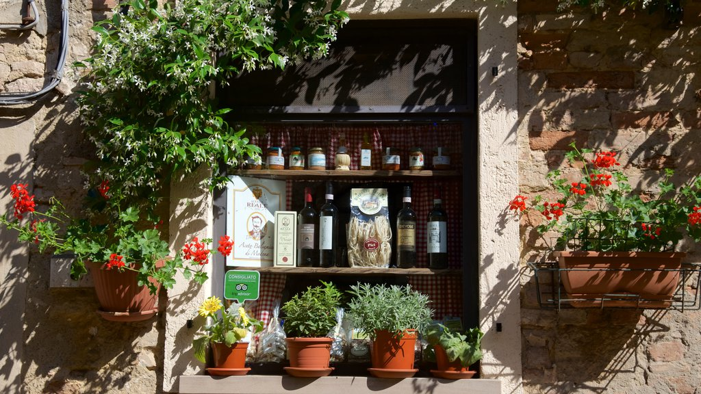 Volterra which includes drinks or beverages and flowers