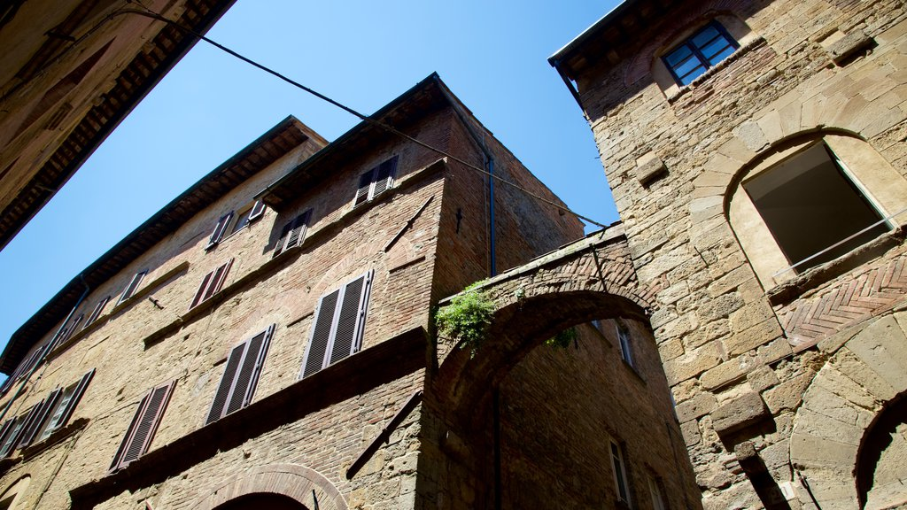 Volterra featuring heritage elements