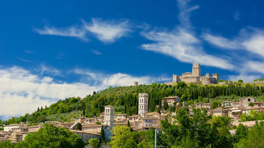 Assisi featuring a city and heritage architecture