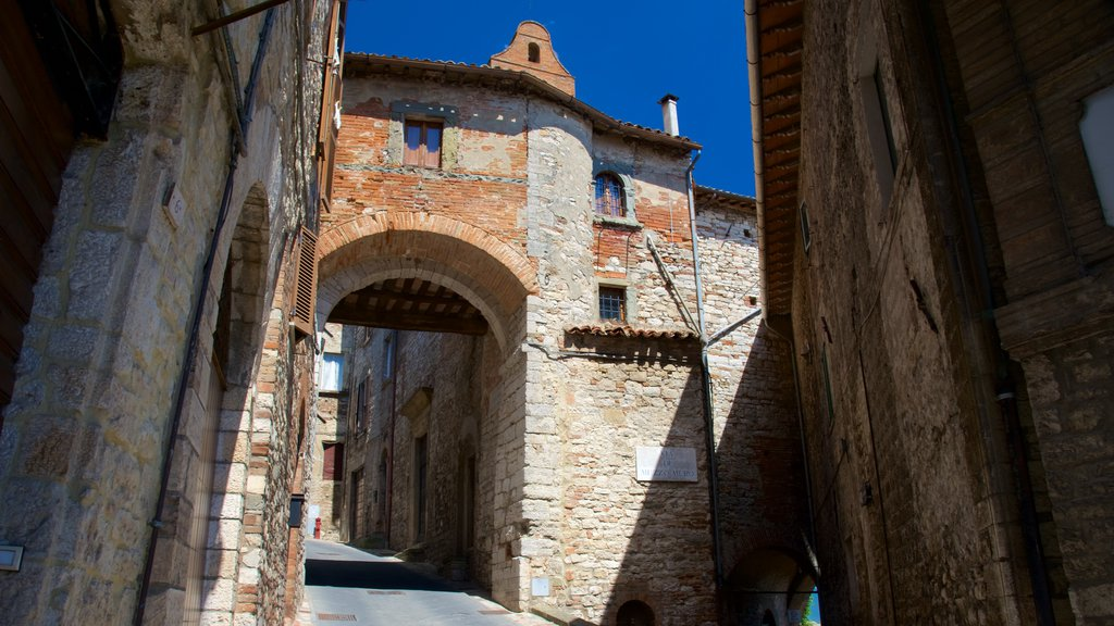 Porta Aurea featuring a small town or village, street scenes and heritage architecture