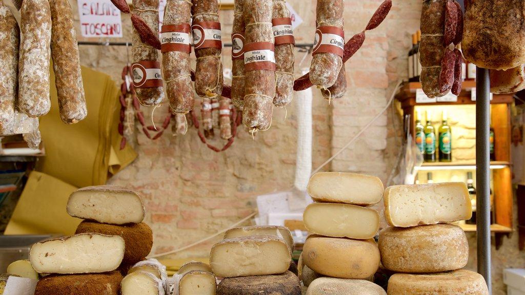 Montepulciano showing food
