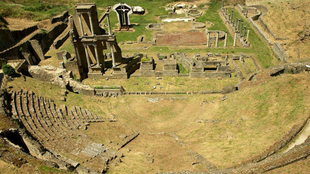 Roman Theatre which includes heritage architecture and a ruin