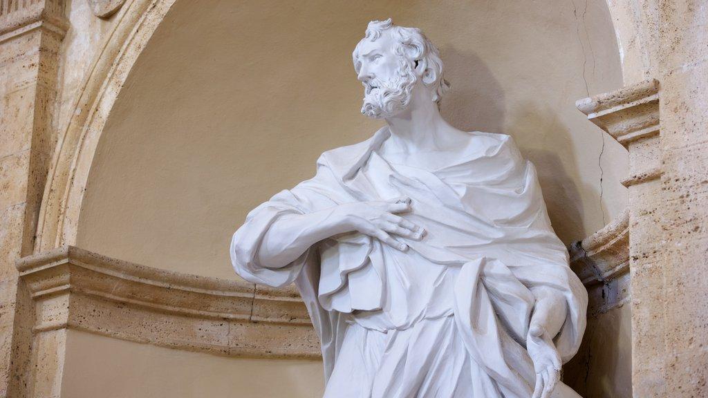 Santa Maria della Consolazione showing a statue or sculpture, religious aspects and a church or cathedral