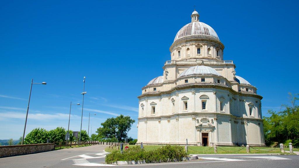 Santa Maria della Consolazione featuring a church or cathedral and heritage architecture