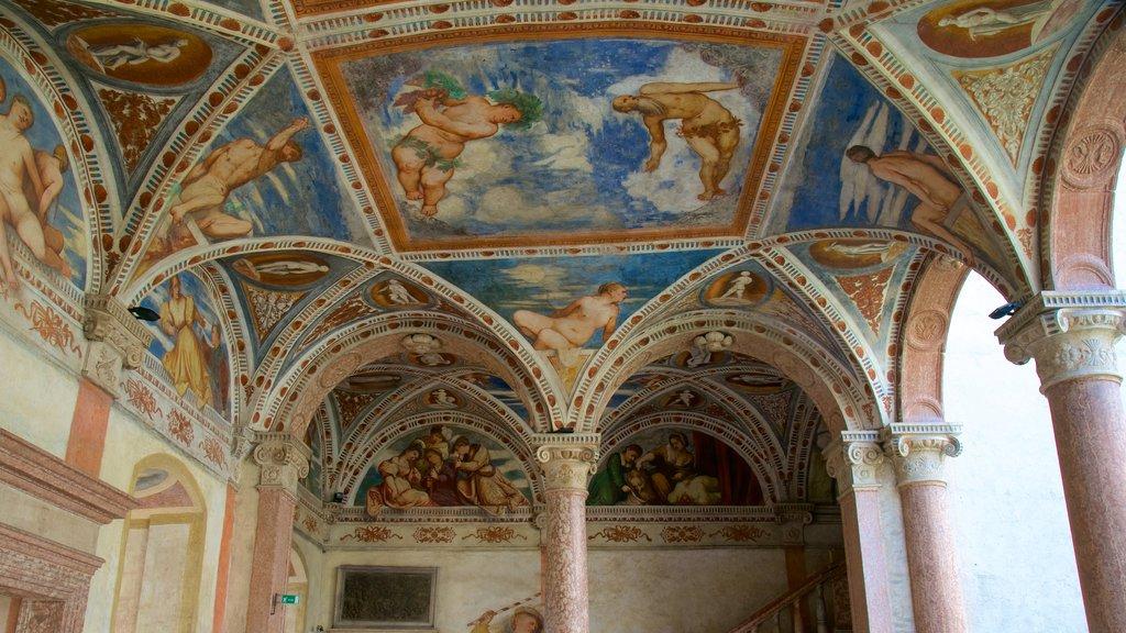 Castello del Buonconsiglio showing art and religious elements