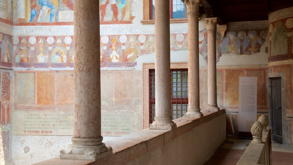 Castello del Buonconsiglio featuring religious elements, art and heritage architecture