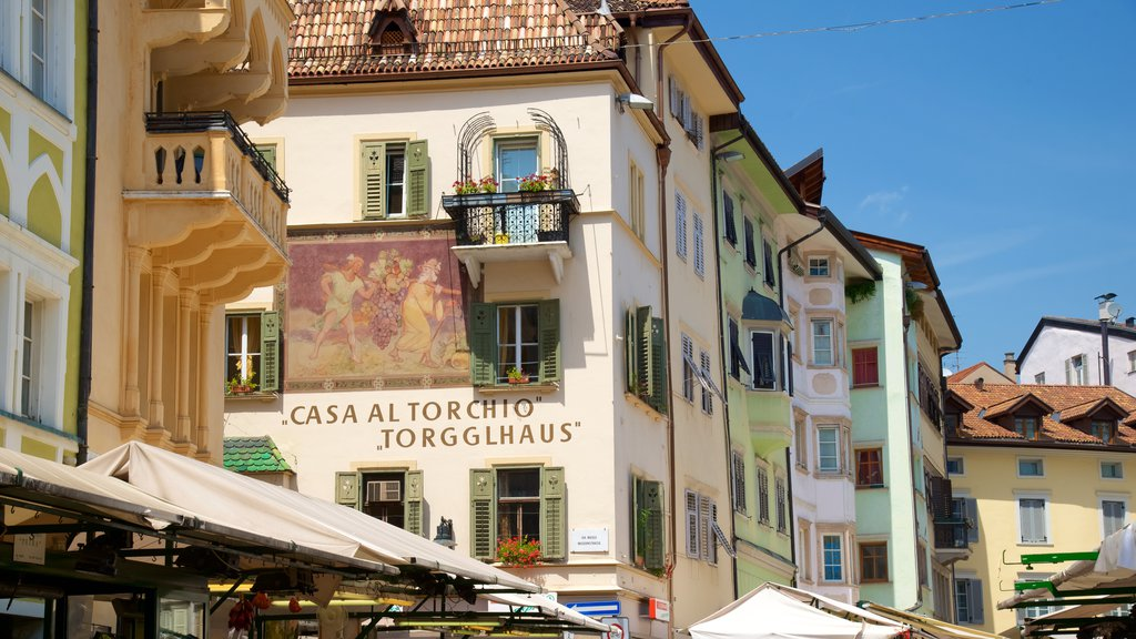Bolzano showing heritage architecture and a city