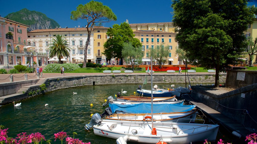 Trentino featuring a lake or waterhole and sailing