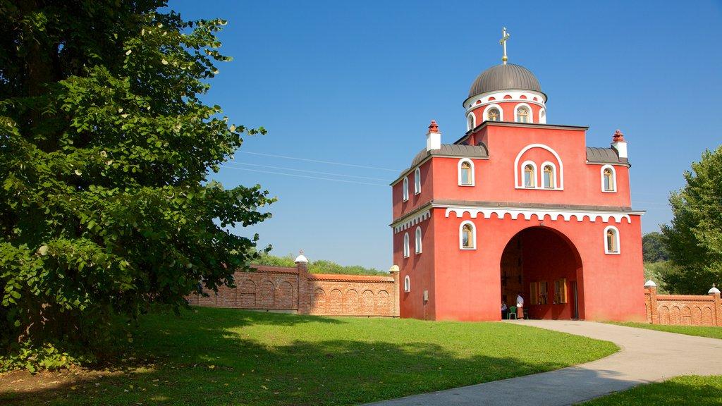 Fruska Gora National Park featuring heritage architecture