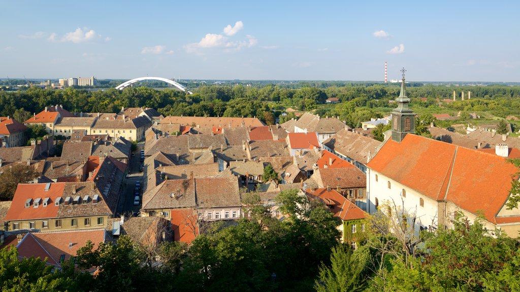 Novi Sad showing a house and a city