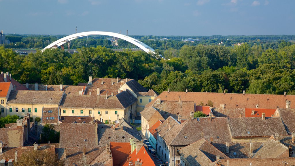 Novi Sad showing a city